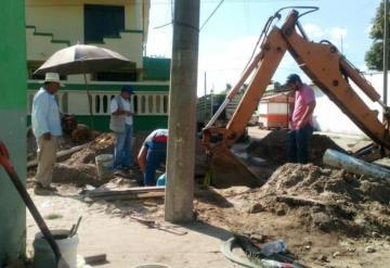 Cabecera municipal de Huimanguillo sin agua