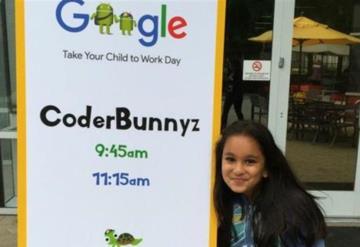 Niña programadora de 10 años es contratada por Google