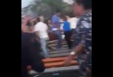 #ALMomento Accidente en Nuevo Vallarta previo a concierto de Yuridia