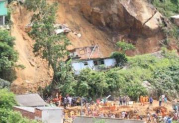 Catástrofe en Brasil deja muertos y desaparecidos