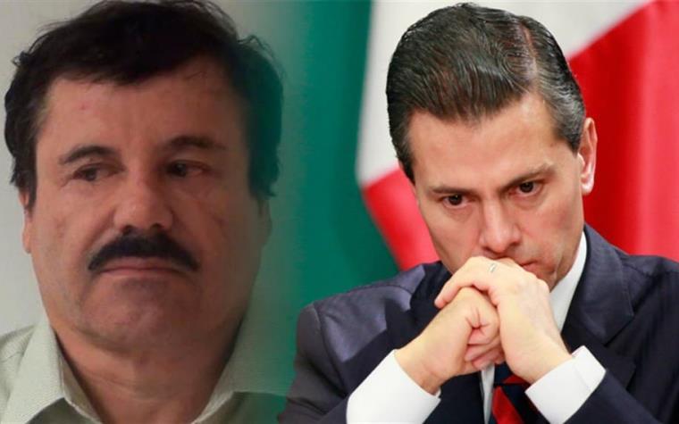 El Chapo sobornó a Peña