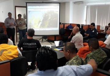 Instalan Centro de Operaciones para coordinar y atender emergencias por el Frente Frío número 10