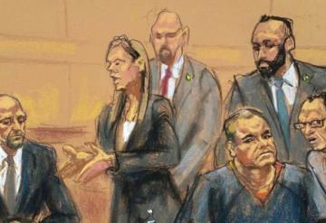 Podrían darle cadena perpetua a El Chapo en su juicio en EU