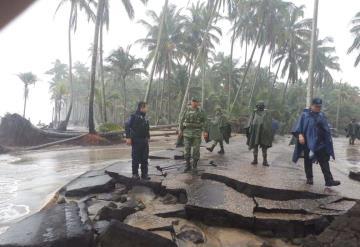 Ejército se encuentra en Paraíso, recorre zonas afectadas