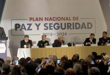 Se garantizará paz a mexicanos