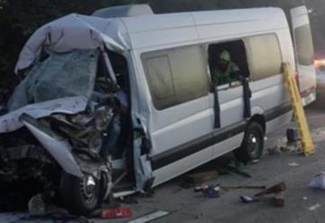 Tragedia, cinco personas muertas en accidente sobre la autopista Cárdenas - Agua Dulce