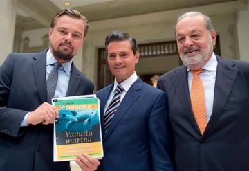 Reconoce México a Leonardo DiCaprio