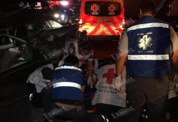 Brutal accidente se registra en la carretera Cárdenas-Villhermosa