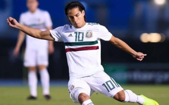Diego Lainez confirmado para la final este miércoles contra Estados Unidos