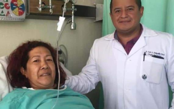Extirpan con éxito tumor de 17 kilos en clínica del IMSS