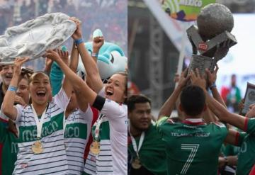 Selecciones mexicanas femenil y varonil conquistan la Homeless World Cup 2018