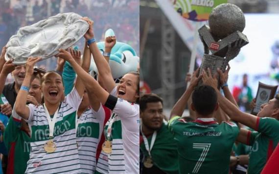 Selecciones mexicanas femenil y varonil conquistan la Homeless World Cup 2018