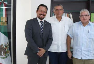 Asume Juan Carlos Manzur cargo de Presidente Ejecutivo de Olmecas de Tabasco