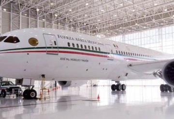 A la venta el avión presidencial; será enviado a California