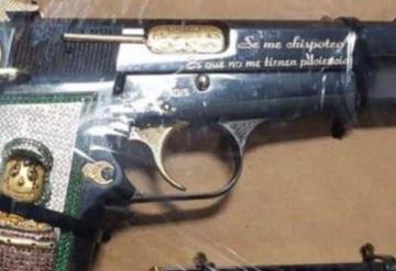 No les tienen paciencia;  delincuentes usan pistolas con imagen del Chavo del 8