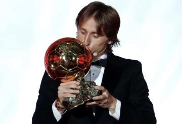 Luka Modric gana el Balón de Oro 2018 y termina con la era de Messi y Cristiano