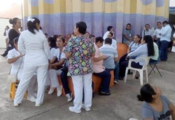Alrededor de 600 trabajadores del Sindicato de Salud saldrán a calles de Villahermosa este jueves