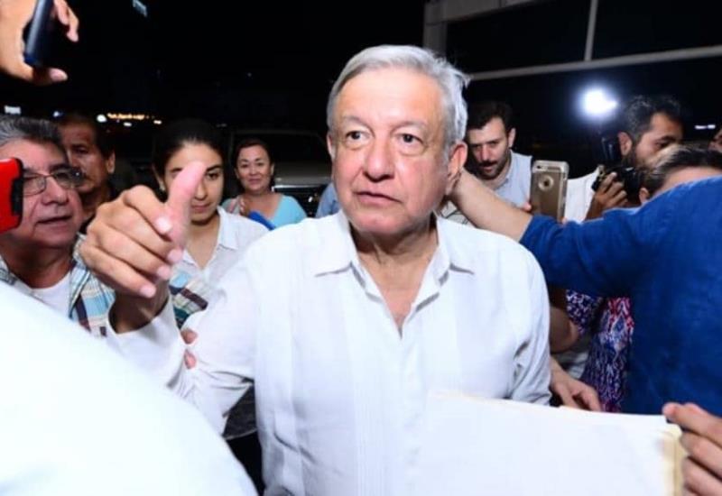 Llega el Presidente de México Andrés Manuel López Obrador a Villahermosa