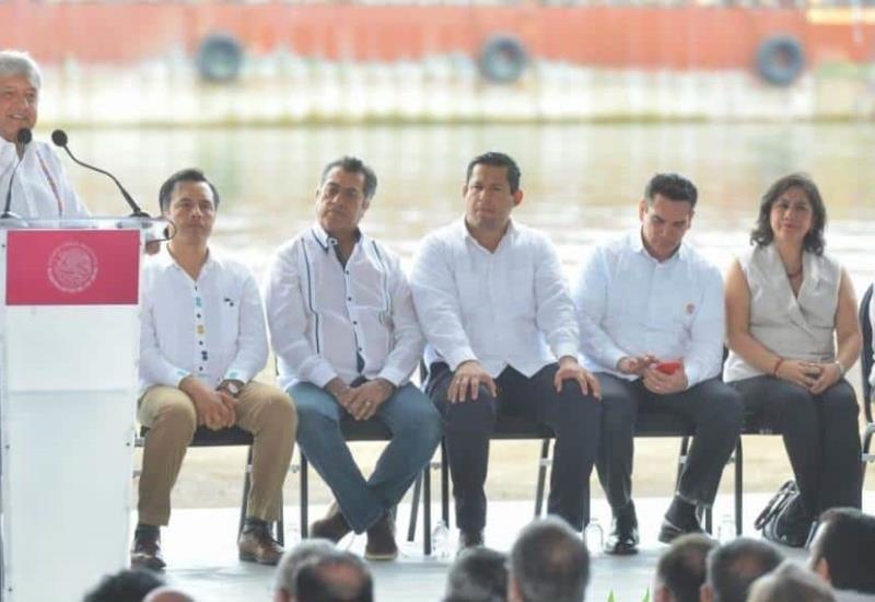 Presenta AMLO el Plan Nacional de Refinación en Paraíso, Tabasco