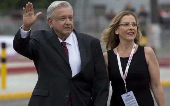Beatriz Gutiérrez insiste en seguridad para AMLO