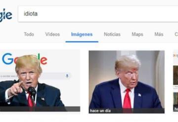 ¿Por qué si buscas idiota en Google aparece Donald Trump?