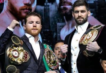 Canelo Álvarez vs. Rocky Fielding EN VIVO: pelean por Título supermediano AMB en New York