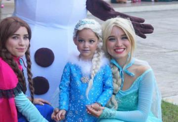 Diversión con Frozen en festejo de Jackie Torres
