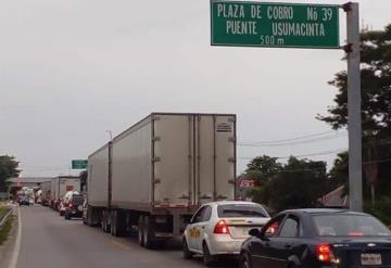 Libre la carretera federal Villahermosa-Escárcega