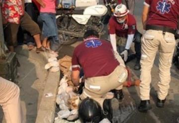 Atropellan a tortillero en Tamulté, los primeros informes indicaban que lo habían ejecutado