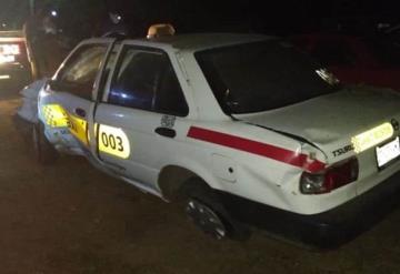 Secuestran a taxista en Zapata