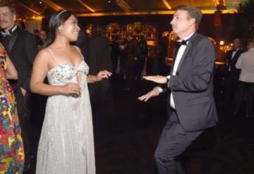 Yalitza Aparicio baila al ritmo de Colegiala y así celebra su asistencia a los Globos de Oro