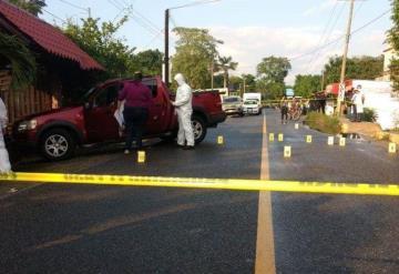 Emboscada mortal; Una mujer muerta por 8 impactos de bala y una menor herida en Luis Gil Pérez