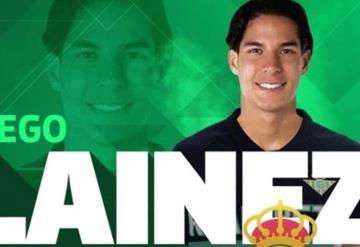 Diego Lainez ya está en el Betis, estas son sus primeras palabras en el Club