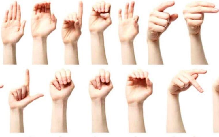 Resultado de imagen para Lenguaje de Señas