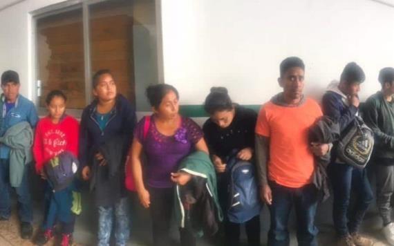 Menor de edad es detenido por tráfico ilegal de personas