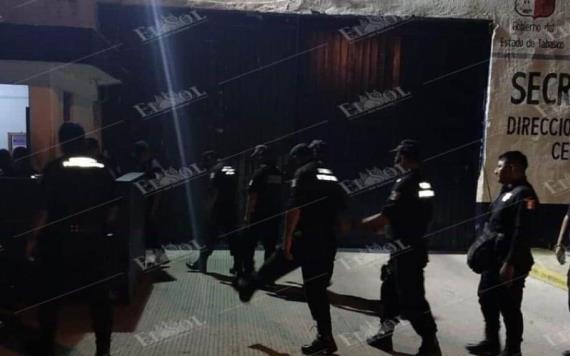 Catean reclusorio ´Las Palmas´ en Cárdenas y encuentran teléfonos celulares, alcohol y armas