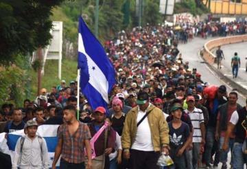 Donald Trump critica a México por ´no hacer nada´ para detener caravana de migrantes
