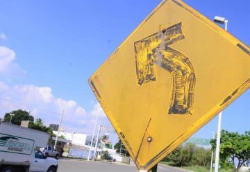 Faltan señaléticas por robos o daños en Villahermosa
