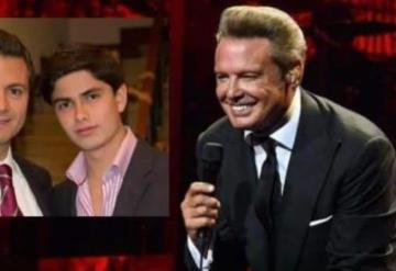 Asiste Luis Miguel al cumpleaños del hijo de Peña Nieto en Acapulco