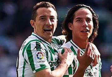 Guardado y Lainez a semifinales de Copa con Betis