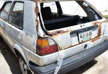Alrededor de 400 autos abandonados 'engalanan' las calles de Villahermosa