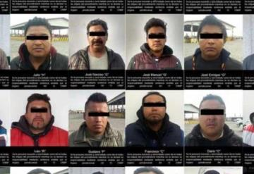 23 detenidos y 40 pipas aseguradas en toma clandestina
