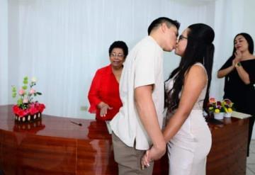 Este día, cuatro parejas han contraído matrimonio en Villahermosa