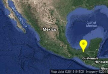 Tiembla en Tabasco; el epicentro fue al sureste de Macuspana