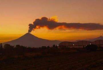Registra actividad volcánica el Popocatépetl, activa alerta en México