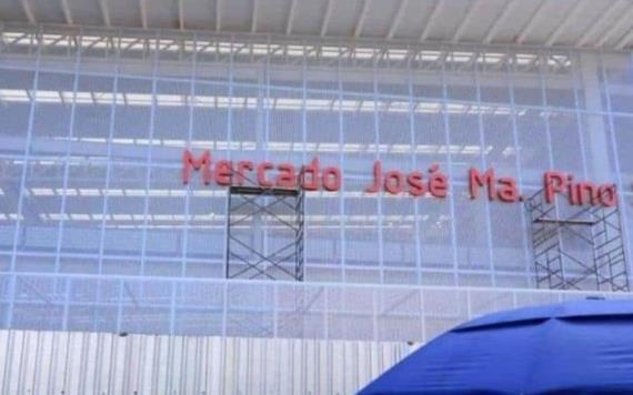 En marzo iniciarán trabajos de la zona del nuevo mercado José María Pino Suárez