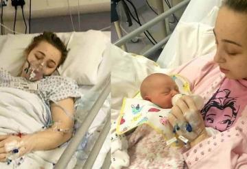 Cae en coma tras un dolor de cabeza y al despertar ya tenía un bebé