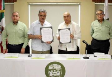 Firman Convenio de Colaboración la Universidad Olmeca y Protección Civil