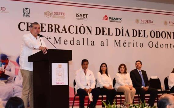 """""""No se escatimará ni un peso a Salud"""": Adán Augusto López Hernández"""