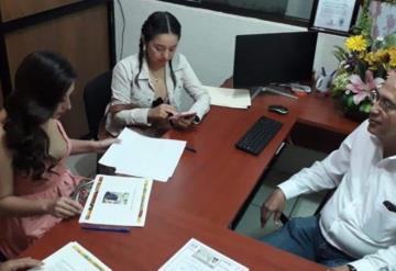 Se inscribe representante de Paraíso ante Turismo Municipal